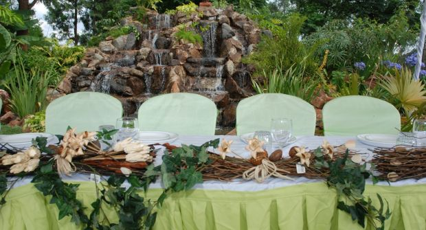 Wedding at Natare Gardens